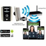Draadloze wifi-video-Intercom met codeklavier AES WIFI-ASK_