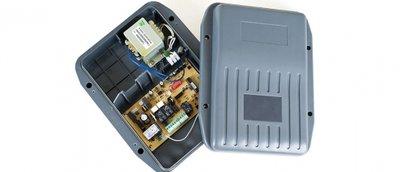 Controlbox voor EasyJack en SuperJack met printplaat met softstop